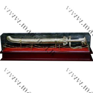 Brass Sword & Case in a Box